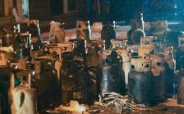 Cháy cơ sở kinh doanh ga ở Hà Nội, 5 người bị mắc kẹt bên trong