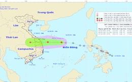 Áp thấp nhiệt đới có khả năng mạnh thêm, sẽ đổ bộ vào Đà Nẵng - Khánh Hòa