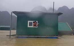 Một lần nữa, những căn nhà phao trong dự án Nhà Chống Lũ phát huy tác dụng tại Quảng Bình