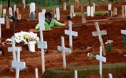 Nghĩa trang Indonesia kín chỗ vì Covid-19