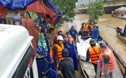 Lũ lụt miền Trung: Dự trữ cung ứng hàng hóa lên tới hàng chục tỷ đồng