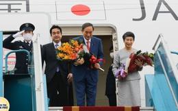 Thủ tướng Nhật Bản và phu nhân kết thúc chuyến thăm Việt Nam