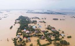 Quảng Bình đề nghị dùng trực thăng, người nhái tiếp tế người dân trong lũ