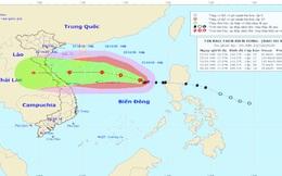Bão số 8 tăng cấp, cách quần đảo Hoàng Sa 470 km