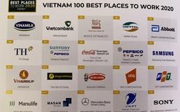 Ngành F&B thống trị danh sách Top 100 nơi làm việc tốt nhất Việt Nam năm 2020