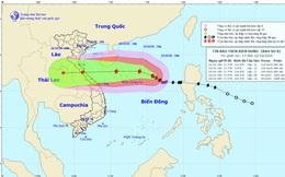 Kỳ dị bão số 8: Có thể giảm đột ngột 5 cấp