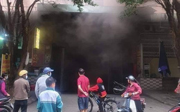 Hà Nội: Cháy tầng hầm để xe chung cư Đại Thanh, hàng trăm cư dân nháo nhác