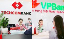 """Sau một thời gian dài liên tục """"đồng pha"""", VPBank vừa hụt hơi trong cuộc đua lợi nhuận với Techcombank"""