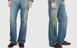 """Gucci đang bán những chiếc quần jean ố màu và bẩn trông như """"mới làm vườn về"""" với giá lên tới 765 USD"""