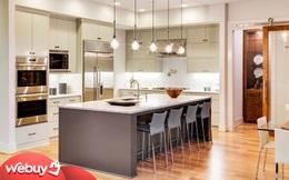 """""""Học lỏm"""" giới thượng lưu những kiểu treo đèn khiến căn bếp trở nên sang - xịn - mịn mà bạn không nên bỏ qua!"""
