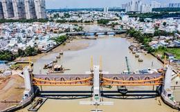 Toàn cảnh công trình chống ngập 10.000 tỷ đồng ở Sài Gòn đã hoàn thành hơn 90%