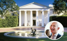 """Hé lộ căn biệt thự 165 triệu USD của tỷ phú Jeff Bezos: Rộng hơn 3 hecta, kín cổng cao tường và có cả """"nhà phụ"""" 10 triệu USD sát cạnh bên"""
