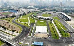 Tháo dỡ các hạng mục cuối cùng của đường đua F1
