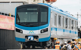 Ảnh: Cận cảnh đoàn tàu Metro Bến Thành - Suối Tiên vừa chính thức có mặt tại Sài Gòn
