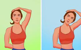 8 bài tập cho những ai muốn có cổ thẳng, vai thanh mảnh và không bị gù lưng tôm do xem điện thoại nhiều