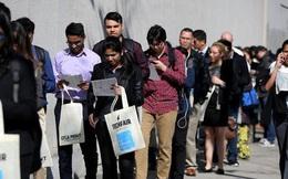 """Thị trường lao động Mỹ tiếp tục bị """"phủ mây đen"""""""