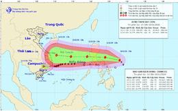 Bão số 12 suy yếu trên đất liền, bão số 13 sắp tiến vào biển Đông