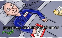 Tối thứ 7 của Jeff Bezos: 'Chill' như bao người nhưng 9h đã lên giường đi ngủ!