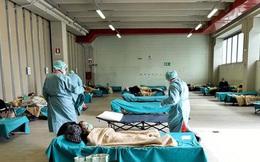 Quá tải phòng điều trị, Italy phải điều trị bệnh nhân trong ô tô