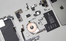 """""""Mổ bụng"""" iPhone 12 Pro Max tại Việt Nam: pin chữ L dung lượng 3.687mAh, camera sau vừa to vừa dài"""
