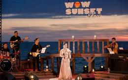Wow Sunset Show: Lãng mạn và ấn tượng - Bồng bềnh giữa hoàng hôn, nhâm nhi bữa tiệc âm nhạc nồng nàn có 1 không 2