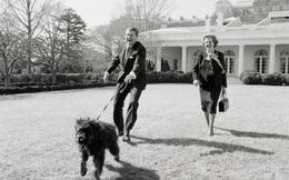 Gà một chân, linh cẩu, gấu trúc...: Những thú cưng độc lạ trong lịch sử Nhà Trắng