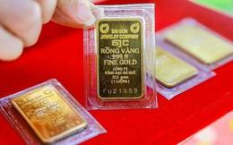 Giá vàng tiếp tục cắm đầu giảm sâu, rớt hơn nửa triệu đồng/lượng