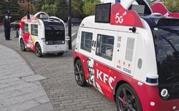 Độc chiêu bán hàng mới của KFC: Đưa 'xe tải gà' không người lái xuống phố, bán hàng không cần nhân viên, thanh toán QR code