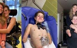Nghị lực sống thần kỳ của chàng trai bị xe 4 tấn đè mất nửa thân người
