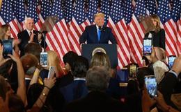 """Sau màn phát biểu tự tin của đối thủ Joe Biden, ông Donald Trump lên tiếng từ Nhà Trắng: """"Chúng ta đã chiến thắng!"""""""