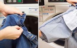 Những sai lầm thường thấy khi giặt quần jean bằng máy giặt mà đến 80% người dùng sẽ mắc phải