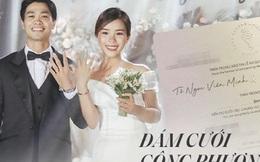Đám cưới Công Phượng thuộc mức bảo mật cao nhất: Khách mời đến dự phải quẹt thẻ, đăng ký thông tin để nhận ảnh sau tiệc