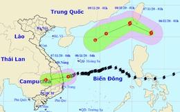 Áp thấp nhiệt đới gây mưa lớn, xuất hiện cơn bão mới giật cấp 12 gần Biển Đông