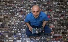 Choáng ngợp với bộ sưu tập điện thoại di động trong 20 năm của người đàn ông Thổ Nhĩ Kỳ