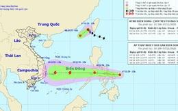 Bão số 11 vừa suy yếu, lại xuất hiện 1 áp thấp nhiệt đới tiến vào Biển Đông