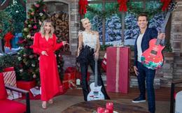 """Gwen Stefani """"chất lừ"""" trong trang phục của Công Trí trên sóng truyền hình Mỹ"""