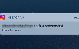 Thông báo chụp ảnh màn hình của Instagram: Sự thật ra sao?