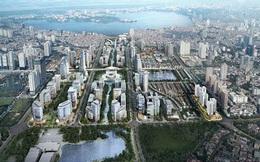 """""""Siêu đô thị"""" 1,3 tỷ USD ở Hà Nội bị giảm mật độ xây dựng sau tăng vốn"""