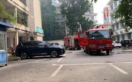 Cháy trong trụ sở Bộ Xây dựng
