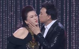 Sân khấu cuối cùng của danh hài Chí Tài cùng vợ trên truyền hình: Thơm má Bé Heo tình cảm, nhịn cười hóm hỉnh nghe bà xã hát