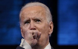 Ông Biden ho liên tục trong lúc phát biểu sau khi đắc cử Tổng thống Mỹ