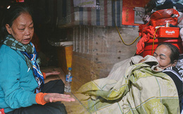 """""""Khu ổ chuột"""" giữa lòng Hà Nội những ngày lạnh nhất từ đầu mùa: Hàng ế nhờ cả xóm ăn hộ, đêm về bà cháu chỉ biết ôm nhau ngủ chống rét"""