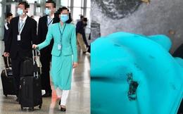 Xôn xao hình ảnh TVHK Vietnam Airlines bị dí thuốc lá cháy dở vào bả vai khi đang mặc đồng phục