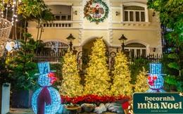 Khu nhà giàu ở Quận 7 decor Noel: Nhà nào cũng đua nhau khoe độ giàu có, riêng biệt thự Cường Đô La đơn giản bất ngờ