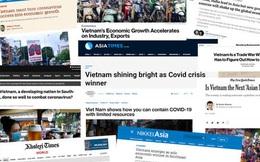 Năm 2020: Forbes, Bloomberg, New York Times, Nikkei Asia… liên tục gọi Việt Nam là bình minh đang lên, ngôi sao sáng, phép màu châu Á