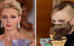 Vương phi Monaco xinh đẹp nhất thế giới gây choáng với mái tóc cạo nửa đầu, từ vẻ đẹp nữ thần trở nên nổi loạn, lý do vì đâu?