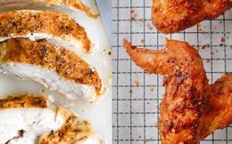 Ức gà hay cánh gà bổ dưỡng hơn? Tiết lộ cách nấu thịt gà tốt nhất