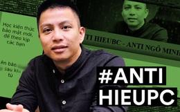 Nóng: Xuất hiện group và website anti Hieupc, cộng đồng mạng tranh cãi gay gắt!