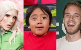10 ngôi sao kiếm tiền nhiều nhất YouTube 2020, sao lại không có PewDiePie?