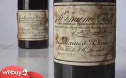 10 chai rượu vang đắt nhất thế giới cho giới thượng lưu: Mỗi chai có giá bằng cả chiếc ô tô, thậm chí là ngang với siêu xe!